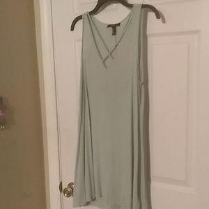 Sea foam dress